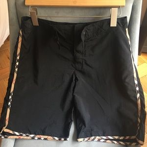 Burberry man swim trunks